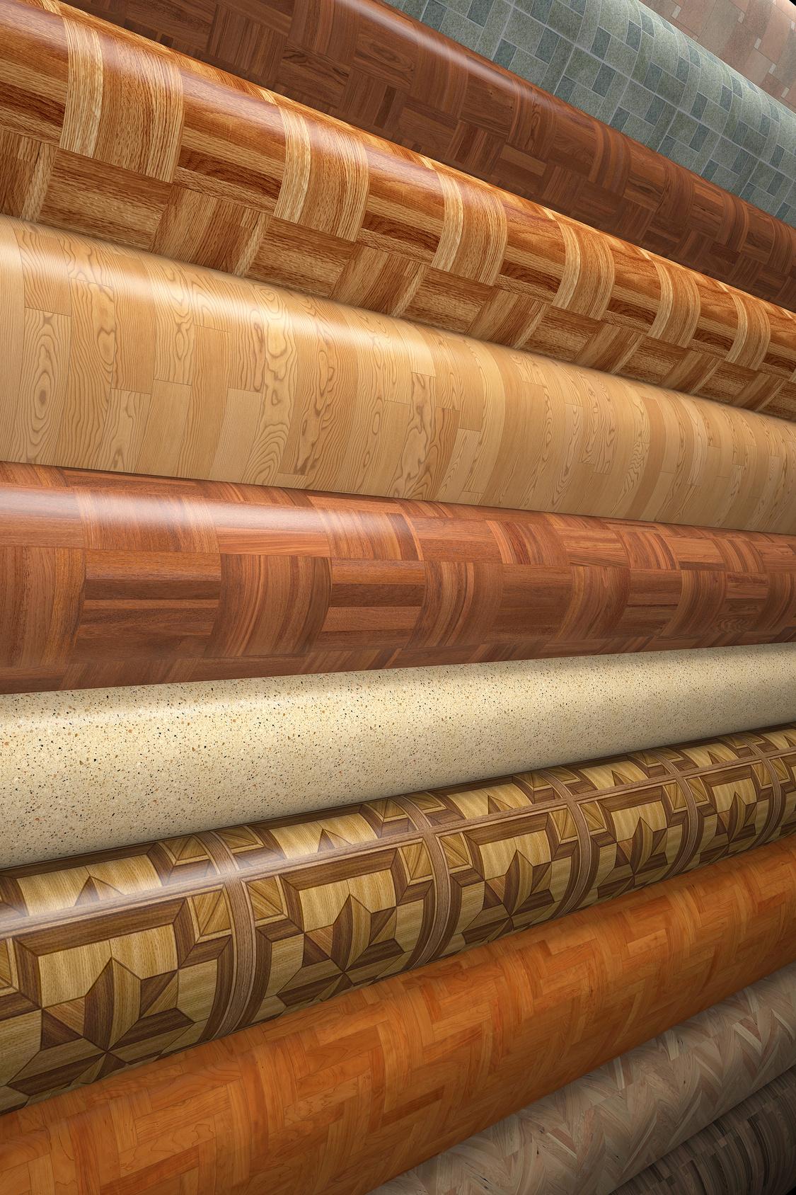 elastische bodenbeläge - vielfalt in material und design - stefan
